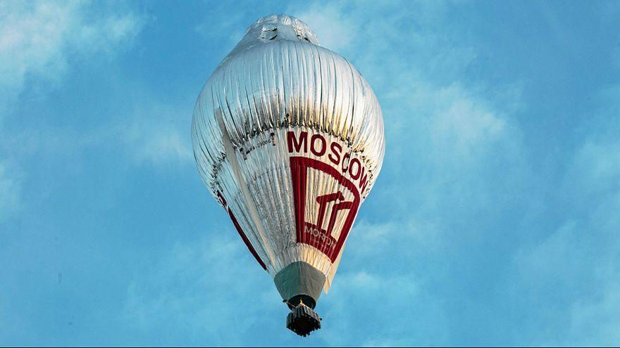 Российский путешественник начал кругосветку на воздушном шаре