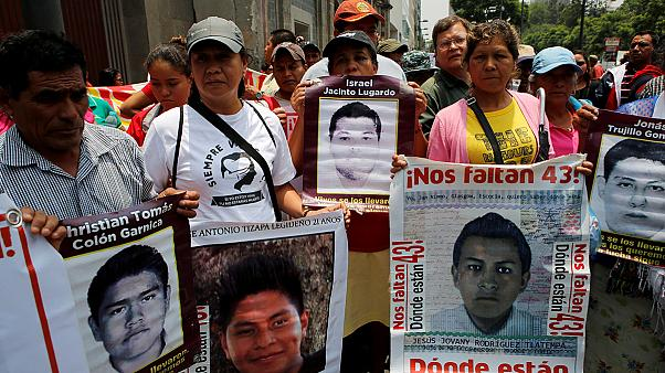 Classmate of Mexico's missing students was tortured according to Human Rights Commission