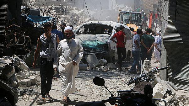 Μαίνεται ο εμφύλιος στη Συρία - Δεκάδες νεκροί άμαχοι στο Χαλέπι