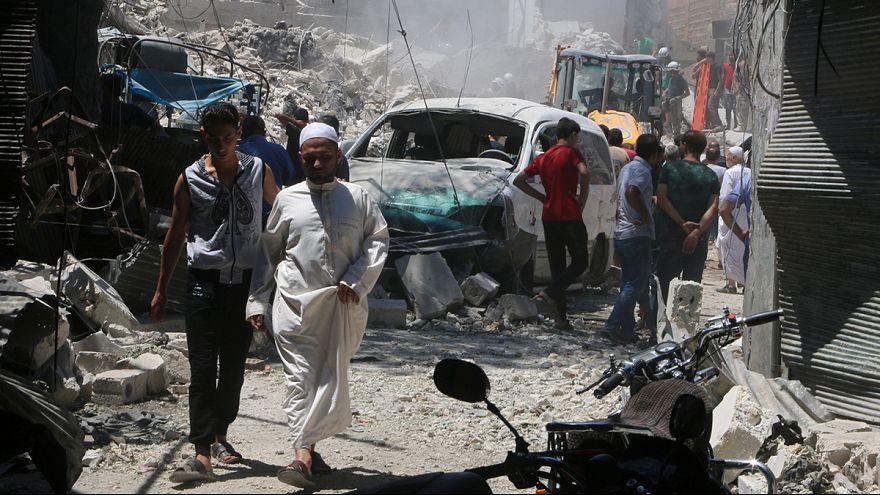 Suriye rejimi ateşkes ilan edip, saldırılarını sürdürdü