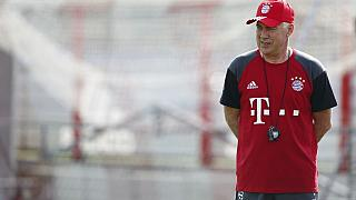 Ancelotti heads first training in Bayern