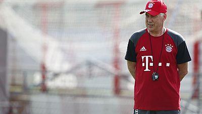 Début d'Ancelotti en tant qu'entraîneur du Bayern Munich