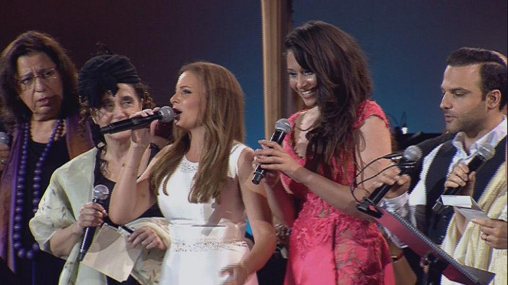 Akdenizli müzisyenler Cenevre'de bir araya geldi
