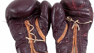 "Ali's gloves and Frazier's jockstrap in the ""Fight of the Century"" go on sale"