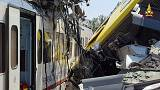 En Italie, collision mortelle entre deux trains