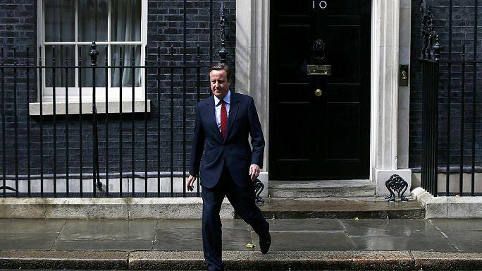 David Cameron de despide de su Gobierno