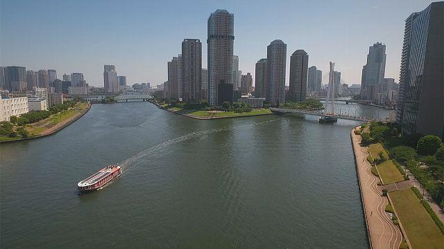 """Tóquio: A """"cidade aquática"""""""