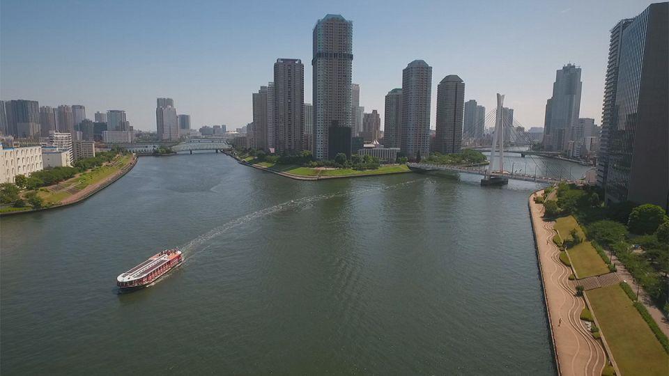 Tokyo, l'insostenibile leggerezza dell'acqua