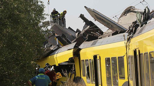 قتلى وجرحى في حادث تصادم قطارين بايطاليا