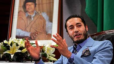 Trial of Gaddafi's third son adjourned to October 2