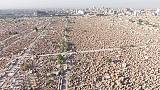 Irak: Dünyanın en büyük mezarlığının İHA görüntüleri
