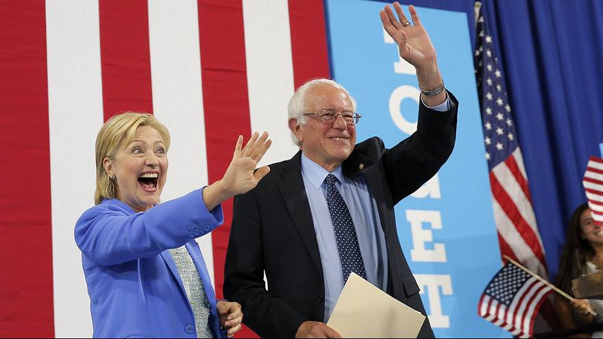 Sanders backs Clinton to be next US president
