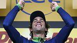 Fransa Bisiklet Turu: Matthews'tan ilk birincilik