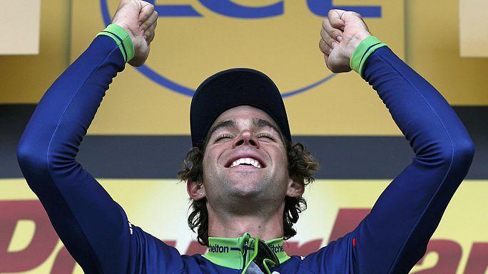 Tour de France: Matthews claims stage 10