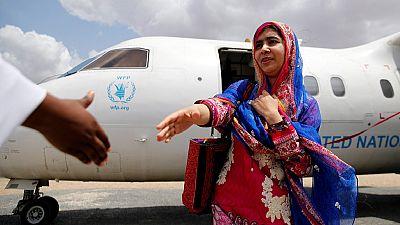 Kenya : Malala Yousafdai en visite au camp de réfugiés de Dadaab