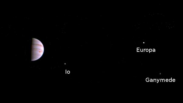NASA-Sonde Juno sendet Bilder vom Anflug auf den Jupiter