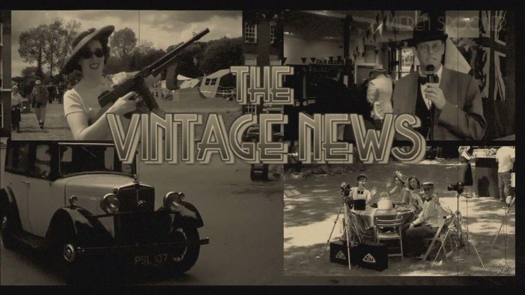 Vintage News - Berichterstattung im Stil der 50er Jahre