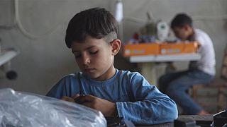 El mercado laboral turco para niños sirios
