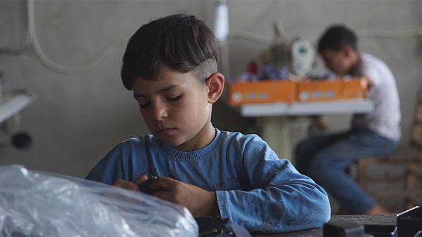 Profughi siriani: la piaga del lavoro minorile