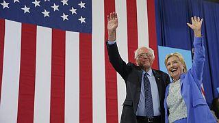 Course à la Maison Blanche : Bernie Sanders soutient Hillary Clinton