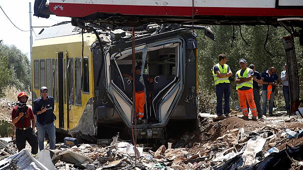 Italia investiga las causas del accidente de trenes