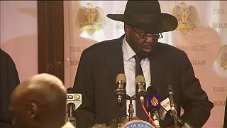 Shooting breaks out in South Sudan's capital as leaders meet for peace talks