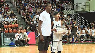 NBA : la star Kevin Durant en tournée en Chine