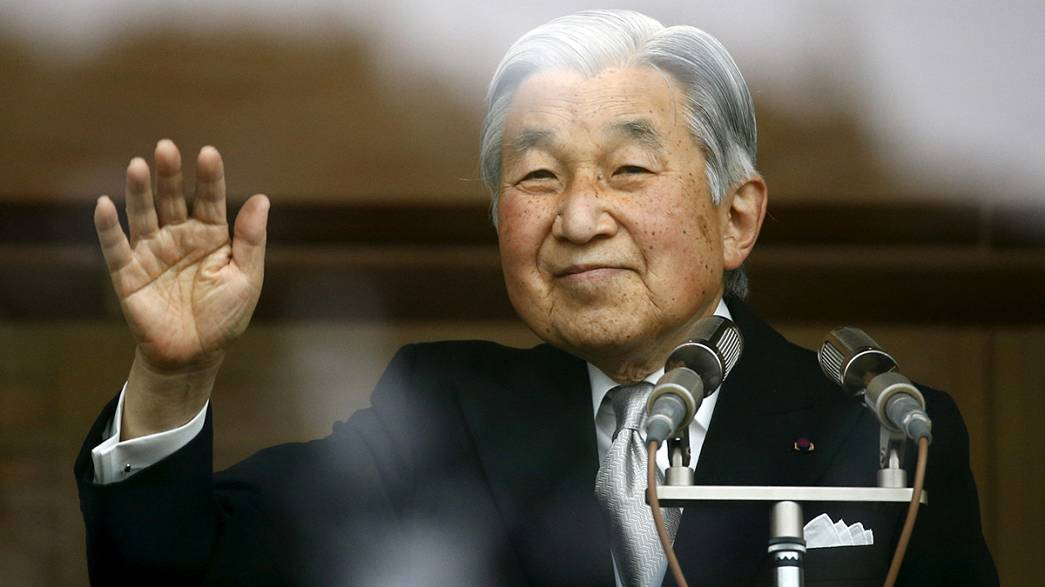 Japonya İmparatoru tahttan vazgeçti