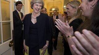 Passation de pouvoir au Royaume-Uni