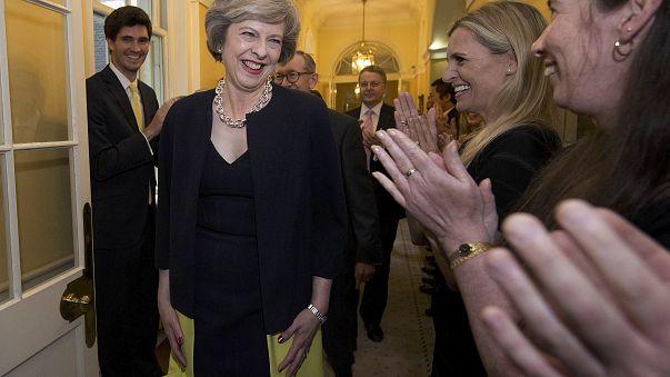 Theresa May-re figyel Brüsszel