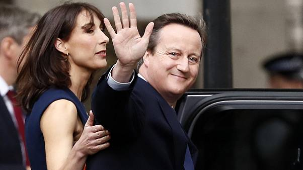 David Cameron quitte Downing Street