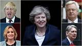 Boris Johnson among three Brexiteers with key roles in new UK cabinet