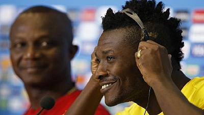 Ghana's Gyan is most paid African playing in Chinese football league