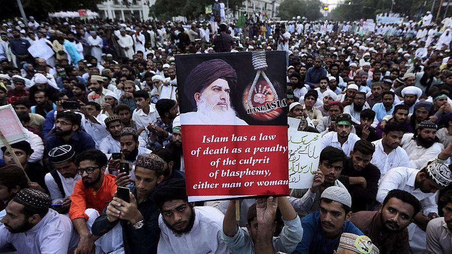 Image: Pakistan blasphemy protest
