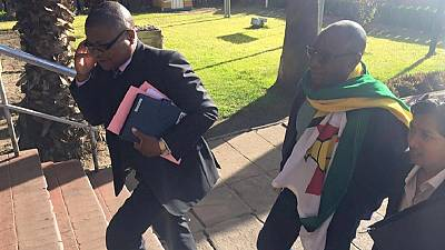 Freed Zimbabwean activist calls for the strike to continue