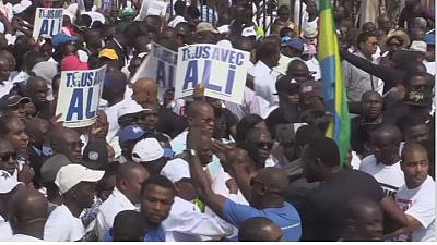 Gabon: thousands reject the nomination of Ali Bongo