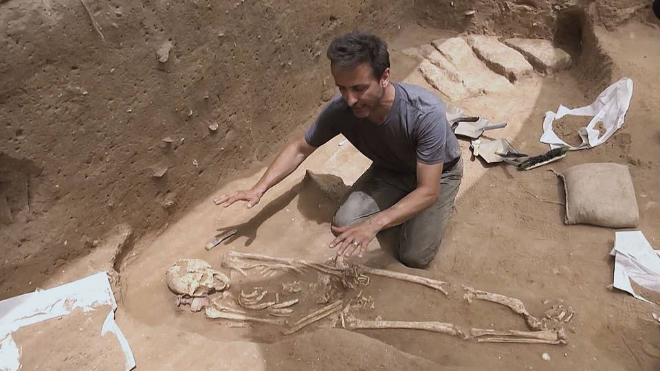 Cultured Philistines - ancient cemetery discovered