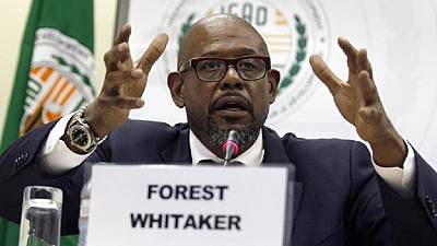 US showbiz star Forest Whitaker slams South Sudan's 'senseless conflict'