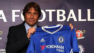 Conte talks tough as he is officially unveiled as Chelsea boss