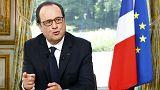 Hollande anuncia fim do estado de emergência em França
