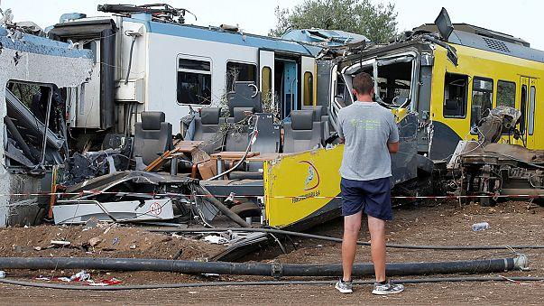 İtalya Cumhurbaşkanı tren kazası kurbanlarının aileleriyle görüştü