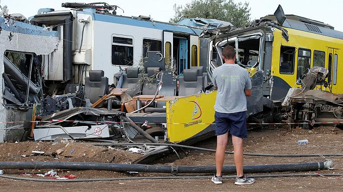Italy crash: Andria station master 'allowed crash train to pass'
