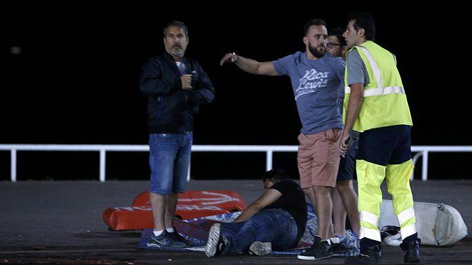 Escenas de pánico y desconcierto en Niza
