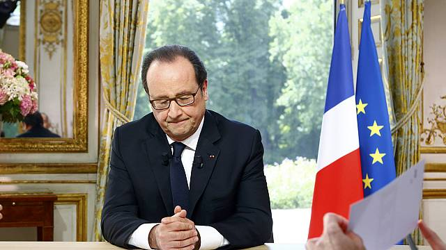 """Hollande: """"Fransa'da olağanüstü hal 3 ay daha uzatılacak"""""""