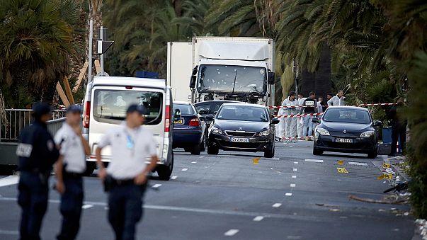 Reazioni a Nizza all'indomani dell'attentato