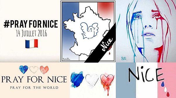 Εφιάλτης στη Νίκαια: Οι αντιδράσεις στα social media