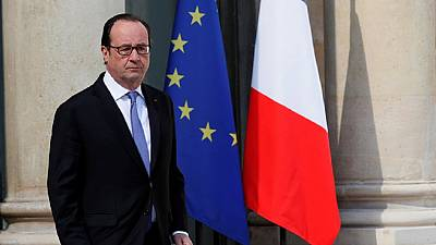 French troops will leave Central African Republic in October--Hollande