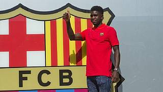Barcelona sign Cameroon-born French international Samuel Umtiti