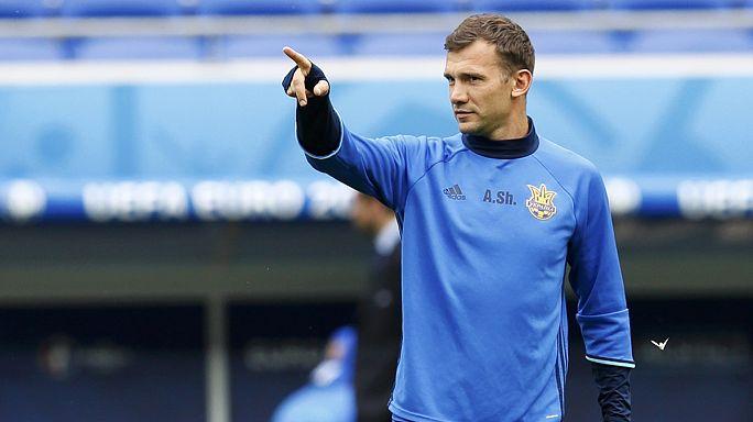 Ukraine appoint Andriy Shevchenko as their new head coach