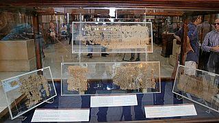 L'Egypte expose le plus vieux texte écrit sur papyrus